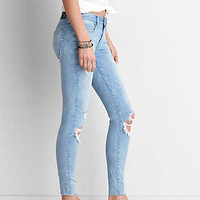 AEO Denim X4 Jegging, Radiant Light