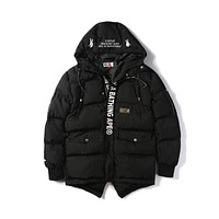 Bape Aape Badge N3b Little Dorset Cold Padded Coat M ~ 3xl