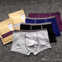 Men Comfortable Low-waist Underwear