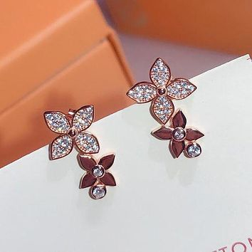 LV Louis Vuitton Fashion Pendant Earrings Accessories Jewelry-2