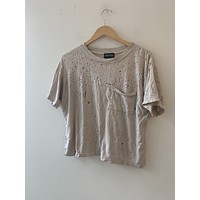 Back Beat Co. Distressed Tee (resale)
