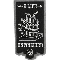 A Life Unfinished Patch