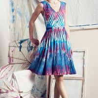 Gallery Row Dress by Plenty by Tracy Reese Red Motif
