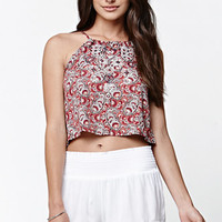 LA Hearts Embellished Cropped Cami Tank Top at PacSun.com