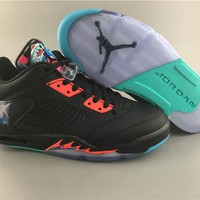 Air Jordan 5 black Basketball Shoes 41-47