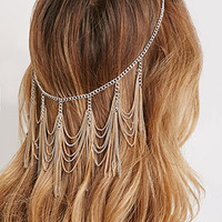Chain Fringe Head Piece