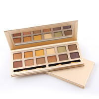 12-color Long-Lasting Matte/Pearl Natural Eye Shadow Makeup Palette [10937929295]
