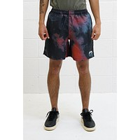 Dark Dye Shorts in Black