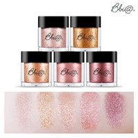 Jewel Sparkling Glitter Powder Eye Shadow Pigment 1.8g / 5 Color Set Tasty Make up Collection / #1-#5