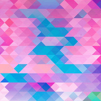 PINK TRIANGLE Art Print by Hands In The Sky