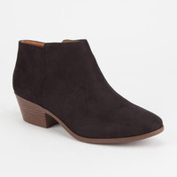 SODA Faux Suede Womens Booties | Boots & Booties