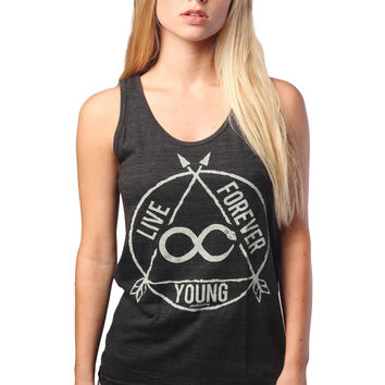 Live Forever Young Tank Top