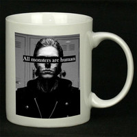 all monster are human For Ceramic Mugs Coffee *