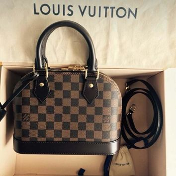 Louis Vuitton LV Monogram ALMA BB