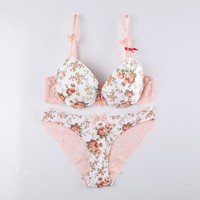 Hot Deal Coffee On Sale Cute Drinks Lace Bra Sexy Summer Set Print Cup [9007931651]