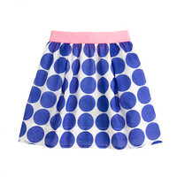 Girls' giant dot skirt - patterns - Girl's skirts - J.Crew