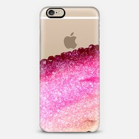 PRETTY COVERED MAGENTA FAUX GOLD by Monika Strigel iPhone 6 case by Monika Strigel | Casetify