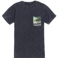 Afends Painted Heart T-Shirt - Mens Tee - Blue