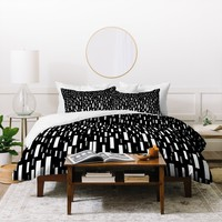 Lisa Argyropoulos Night Terrential Duvet Cover