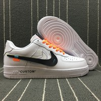 Best Online Sale NIKE AIR FORCE 1 '07 x OFF WHITE Sport Shoes AO4297-001