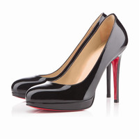 Round toe solid high heels party shoes nightclub women's pumps