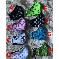 Unisex Multiple style patterns cotton Mouth Mask Reusable Anti Pollution Breathable Face Maskes