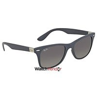 Ray Ban Wayfarer Liteforce Grey Gradient Sunglasses RB4195 633211 52