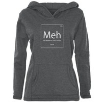 PEAPGQ9 Meh Periodic Table Womens Pullover Hoodie