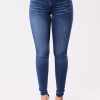 Watch Out For This Jeans - Medium Wash
