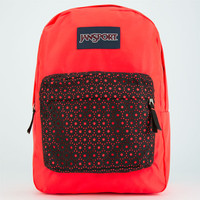 Jansport High Stakes Backpack Black Laser Lace One Size For Women 24759434901
