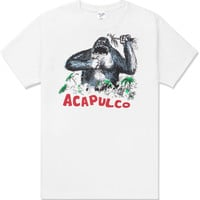 Acapulco Gold White Welcome to the Jungle T-Shirt | HYPEBEAST Store. Shop Online for Men's Fashion, Streetwear, Sneakers, Accessories