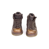 4 UK | DR MARTENS Boots / Made in England 8550 / brown leather hiking boot / chunky / 90s grunge / lace up docs / womens 6 us /  eur 37