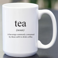 Tea Definition Coffee Mug