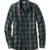 Women's Scotch Plaid Shirt, Slightly Fitted | Free Shipping at L.L.Bean