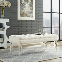 Celestia Upholstered Bench