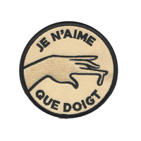Je n'aime patch