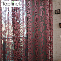 2015 modern shade tulle for windows sheer curtains for living room the bedroom kitchen blinds voile curtain fabric fotoshtory
