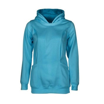 New Fashion Hooded T shirt Women Long Sleeve Solid Plus Size Clothing For Maternity Nursing Clothes Hoodie Tops Femme GS