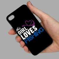 This Girl Loves Fishing Phone Case For Samsung & iPhone