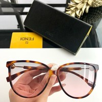 Fendi Woman Men Fashion Summer Sun Shades Eyeglasses Glasses Sunglasses created created