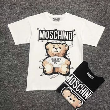 ''MOSCHINO'' Women Simple T-shirt