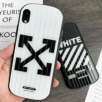 Off White Fashion New Letter Arrow Print Protective Case Phone Case