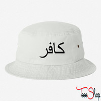 infidel 1c arabic bucket hat