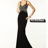 Sweetheart Beaded With Cut Out Back Paparazzi Prom Dress By Mori Lee 97026