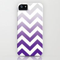 *** PURPLE FADE TO GREY CHEVRON  *** iPhone & iPod Case for iphone 5c + 5s + 5 + 4s + 4 + 3gs + 3g + ipod touch + GALAXY !!!