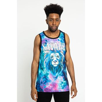 Tie Dye Savage Tank Top