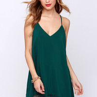 Just Getting Started Teal Blue Lace Dress