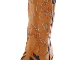 Nomad Mustang Women's Western Cowboy Boots