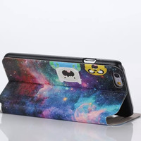 Beautiful Galaxy ET Case Cover for iPhone 6S 6 Plus Samsung Galaxy S6