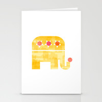 At circus Stationery Cards by Yasmina Baggili